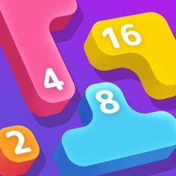 LAVA: Merge Number Puzzle Game