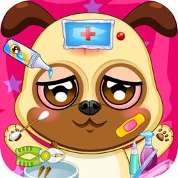 Pet Doctor Animals Caring Game