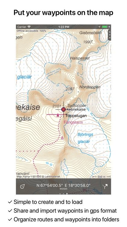Topo GPS Sweden screenshot-4