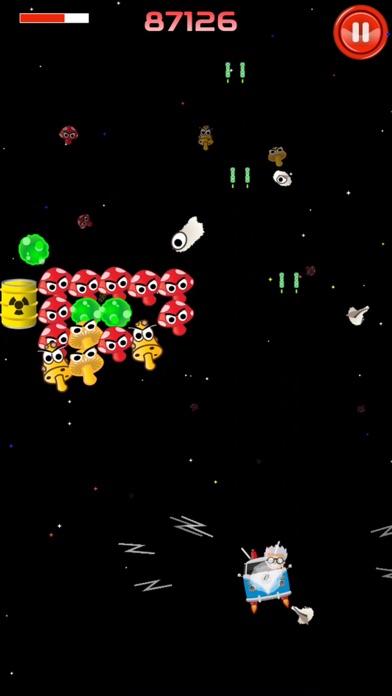 Mushroom Mayhem - action game screenshot one