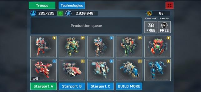 Battle for the Galaxy War Game Screenshot