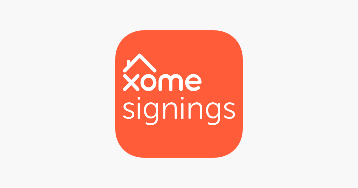 Xome Signings on the App Store