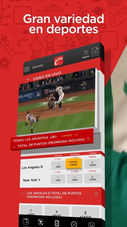 Caliente Sports screenshot-3
