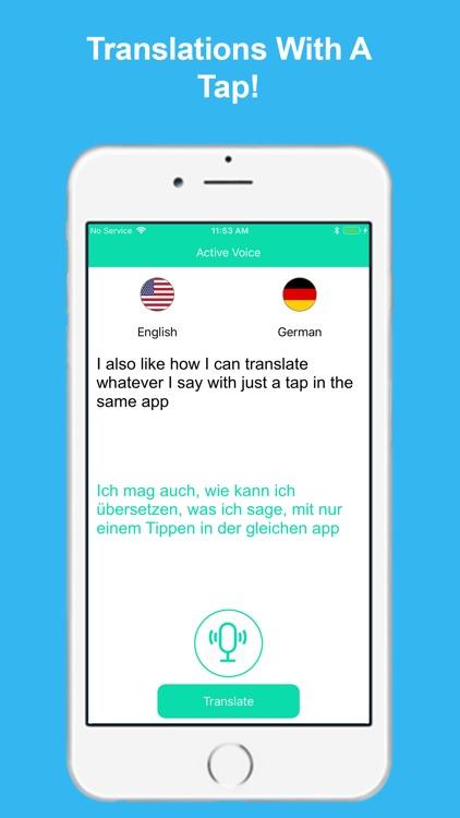 Active Voice: Speech to Text