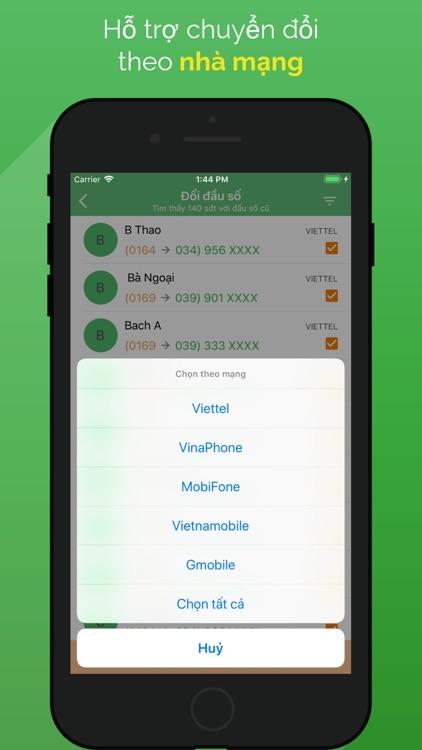 Chuyển đổi đầu số - đầu số mới screenshot-3