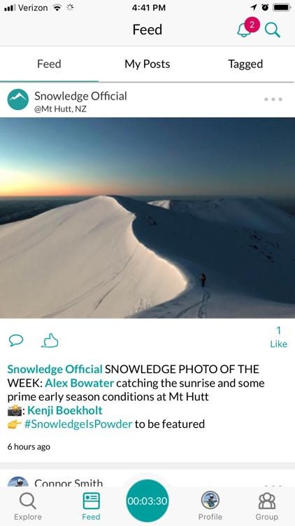 Snowledge: Ski & Snow Tracker