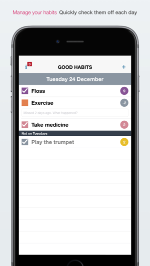 ‎Good Habits Screenshot