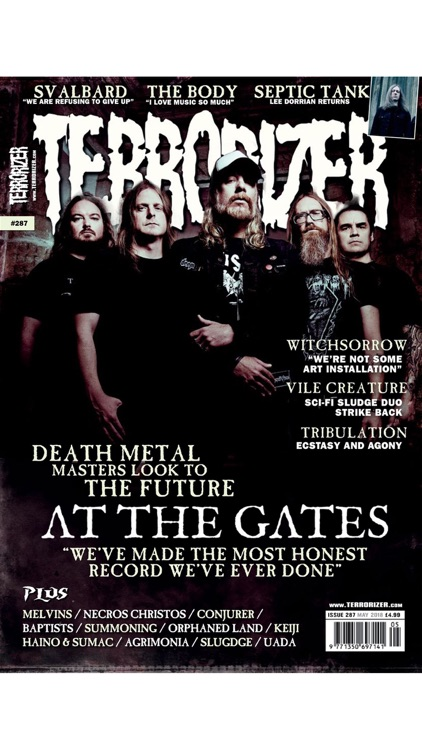 Terrorizer Magazine screenshot-0