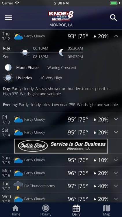 KNOE Weather screenshot-4