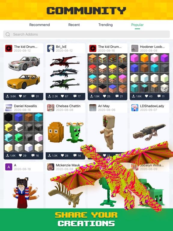 Crafty Addons for Minecraft PEのおすすめ画像3