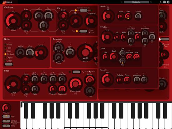 Redshrike - AUv3 Plugin Synth