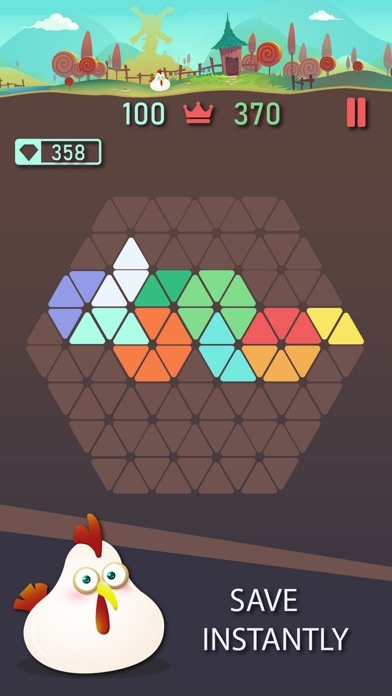 Trigon : Triangle Block Puzzle Screenshot 5