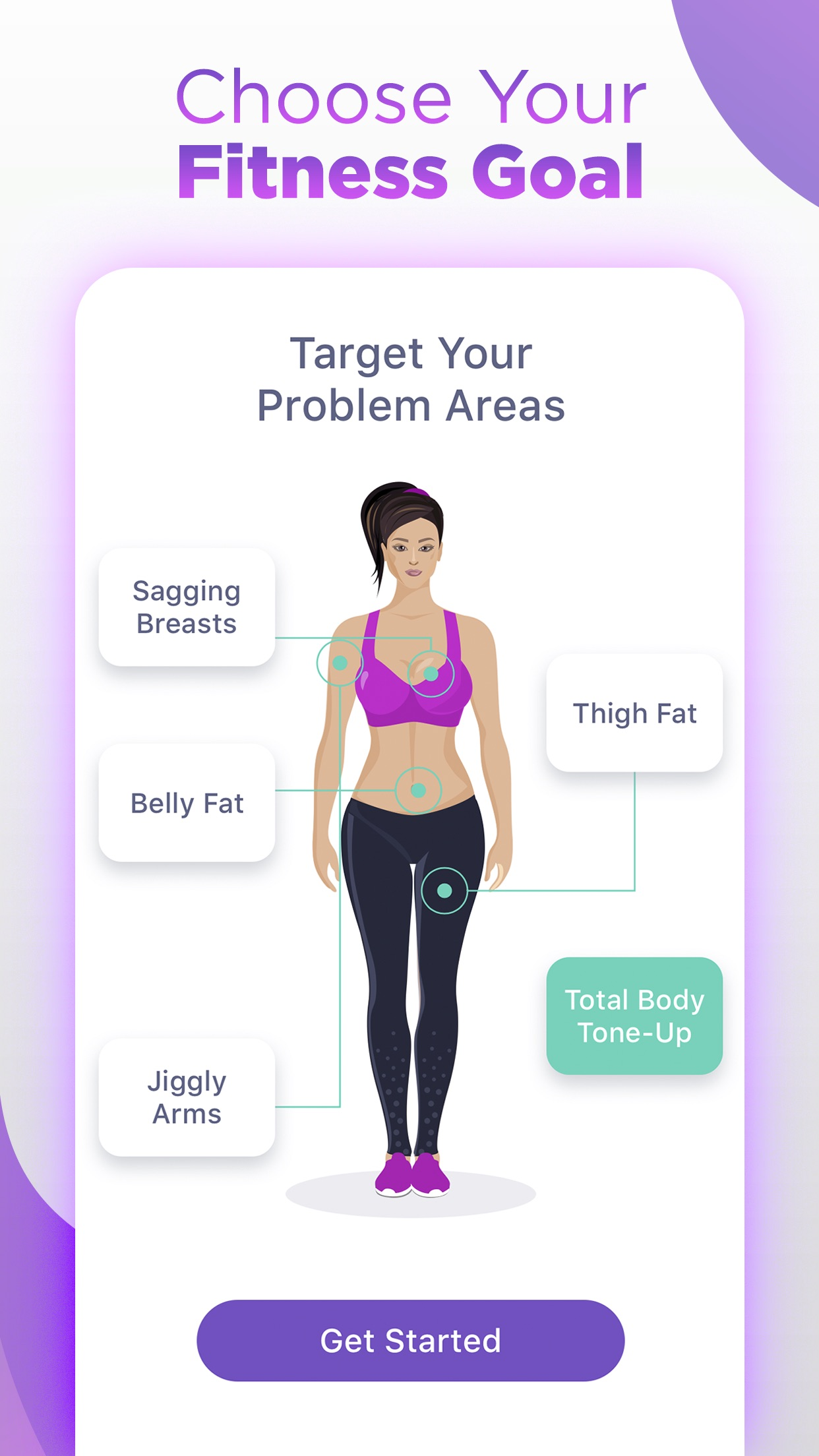 HitFit - Workout for Women Screenshot
