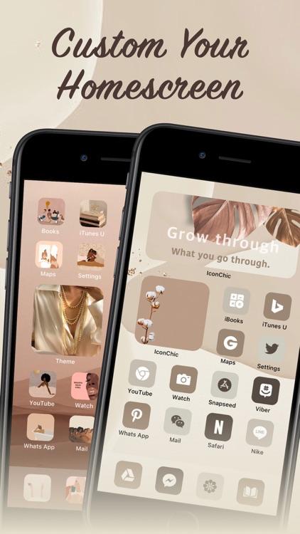 IconChic-Aesthetic Icons Theme