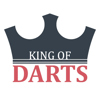 King of Darts scoreboard