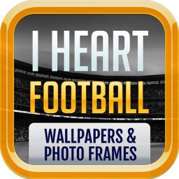 I Heart Football - Wallpapers
