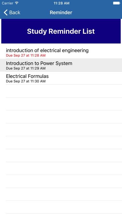 Electrical Engineering App screenshot-4