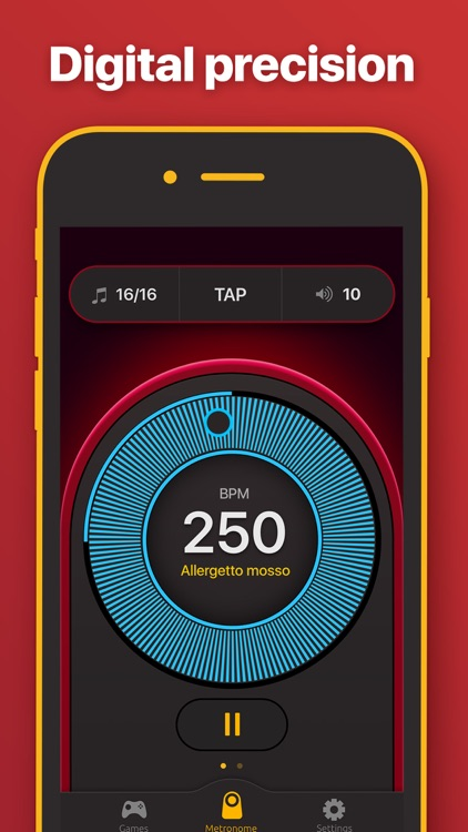 Metronome - BPM & Tap Tempo screenshot-0