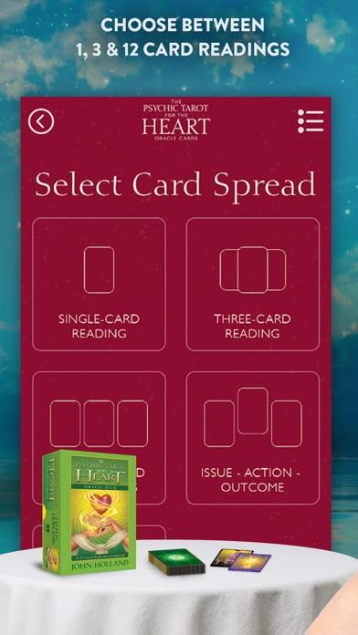 Psychic Tarot for the Heart screenshot 4