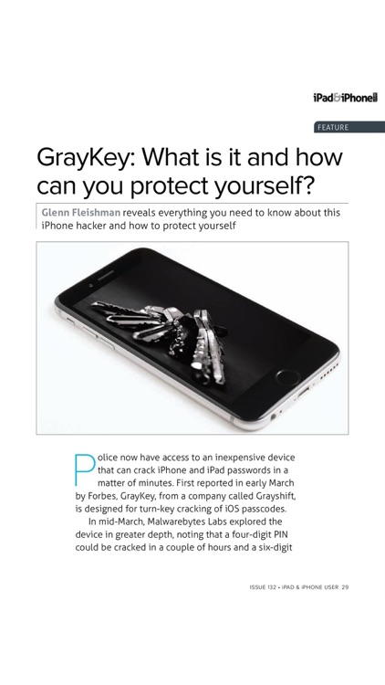 iPad & iPhone User magazine: Apple iOS to the core: news, tutorials, reviews and apps screenshot-3