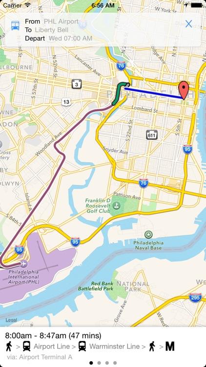 Transit Tracker - Philly screenshot-3
