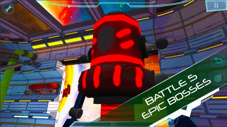 Explodey: Sci-Fi Side Scroller screenshot-5