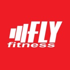 Fly fitness icon