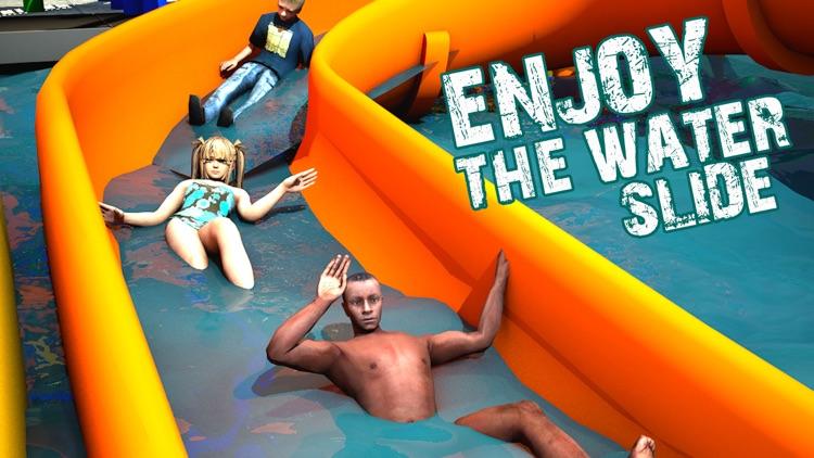 Water Slide Sim Games 2018 screenshot-4