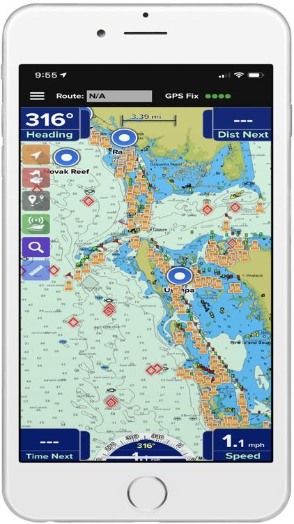PRO CHARTS - Marine Navigation