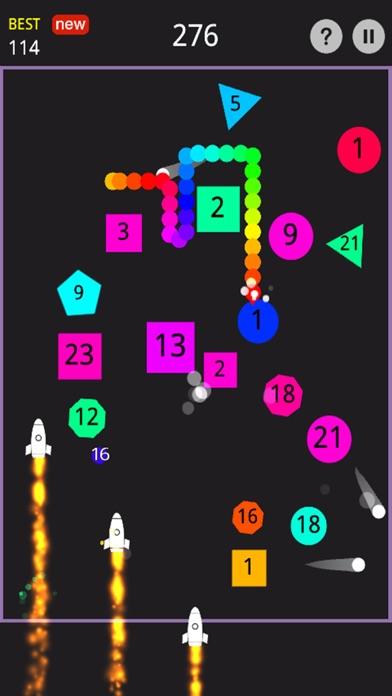 Bounce Snake Hit Block screenshot two
