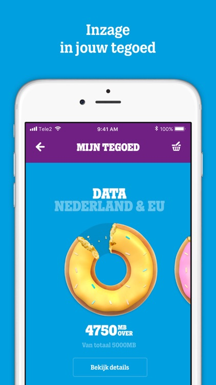 MijnTele2 App screenshot-1