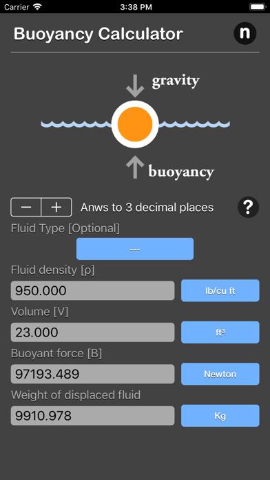 点击获取Buoyancy Calculator