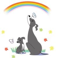 Italian Greyhound Dog Stickers