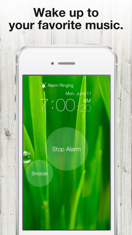 One Touch Alarm Clock