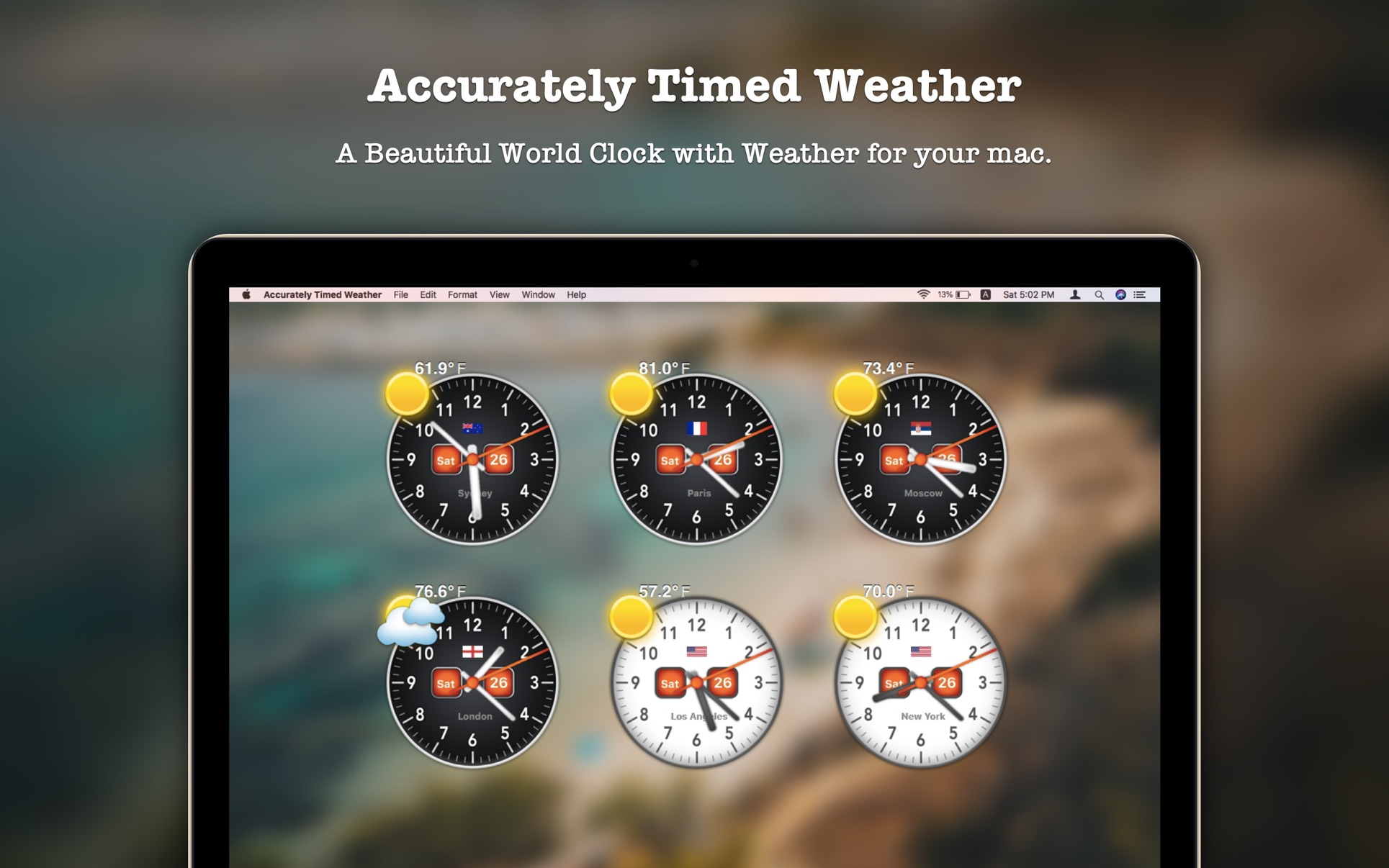 ‎Accurately Timed Weather on the Mac App Store
