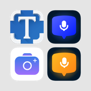 Productivity apps (Scanner, OCR, Voice Dictation)