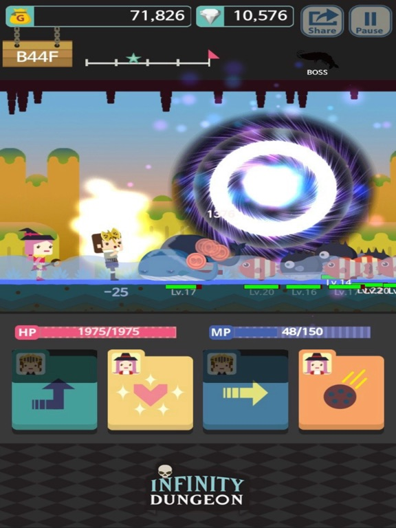 Infinity Dungeon! VIP Скриншоты9