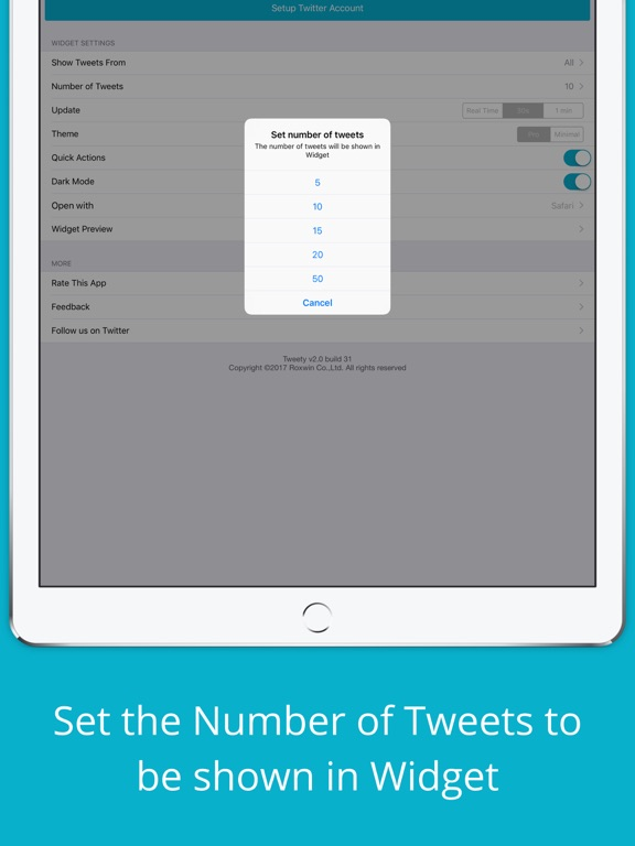 Tweety Pro Widgets for Twitter Screenshots