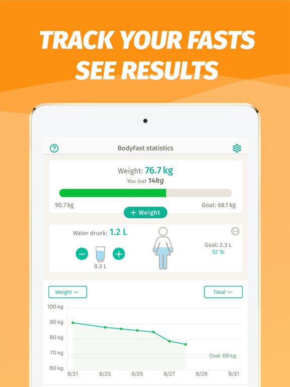 BodyFast Intermitterend Vasten iPad app afbeelding 3