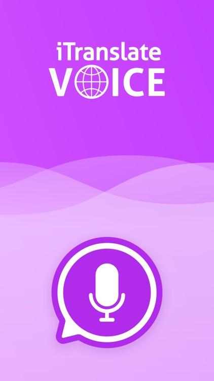 iTranslate Voice screenshot-0