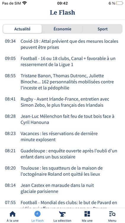 Le Figaro : Actualités et Info screenshot-6