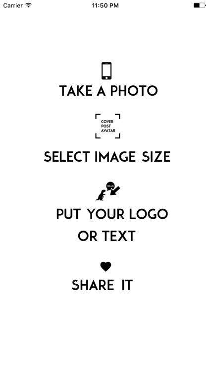 DINO photo stamp  social media