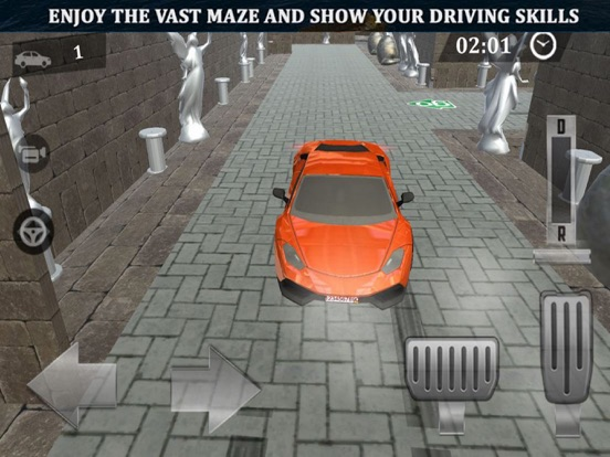 Maze Escape: Car Parking Lever screenshot 5