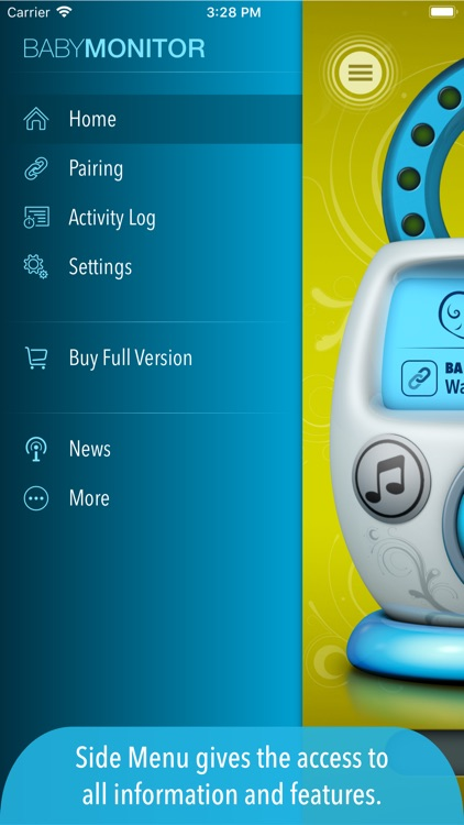Safe Baby Monitor Pro screenshot-3
