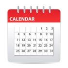 シンプルカレンダー icon