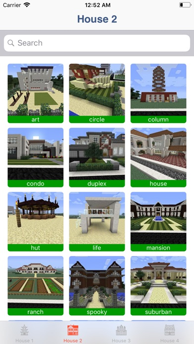Screenshot for House & Building for Minecraft in United States App Store
