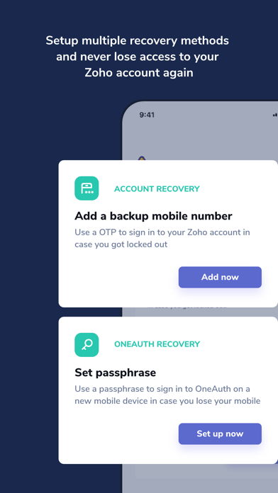 Zoho OneAuth - Authenticatorのおすすめ画像6