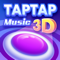 App Icon for Tap Music 3D App in Philippines IOS App Store