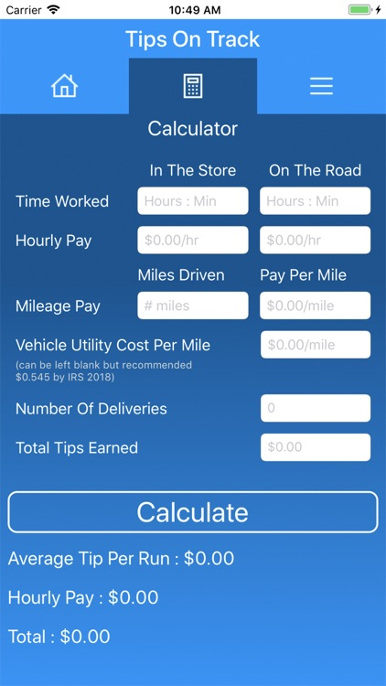 Tips On Track -Delivery Driver