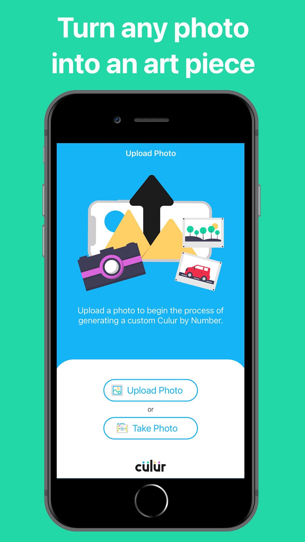 Screenshot do app culur: Custom Color by Number